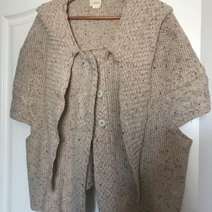 Far Away From Close Wool Boho 3/4 Sleeve Sweater